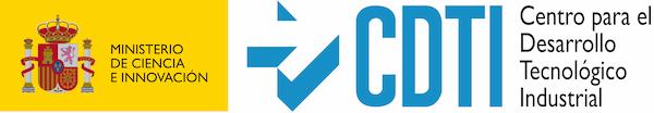 logo ministerio de ciencia e innovación y logo de centro para el desarrollo tecnológico industrial