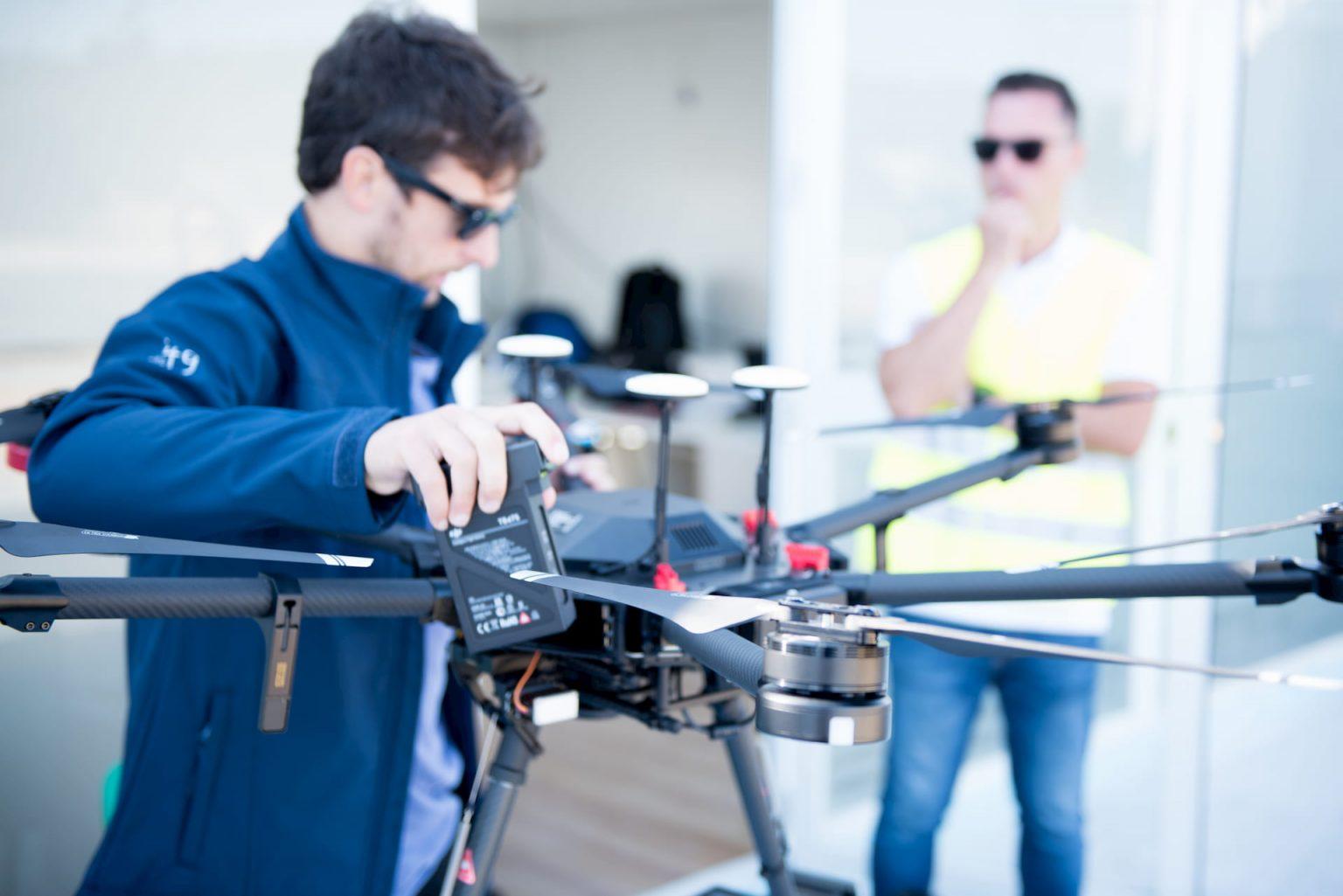 Drone proyecto Áncora