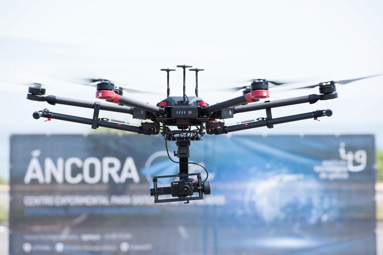 dron proyecto áncora