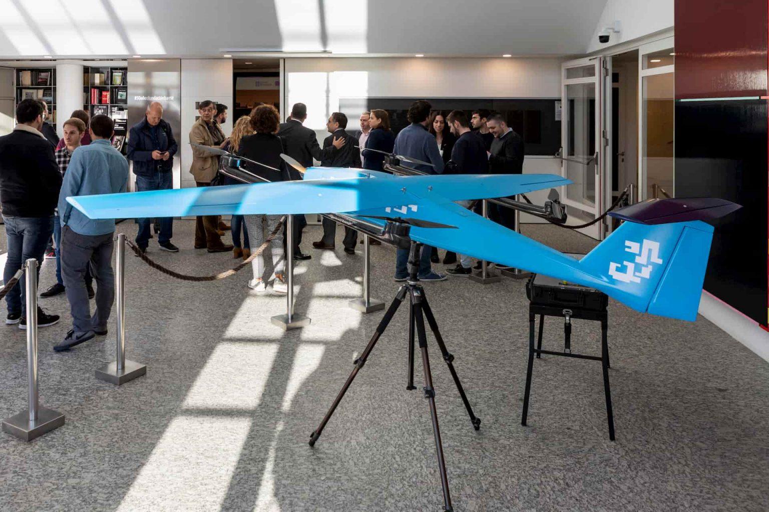 presentación dron ITG