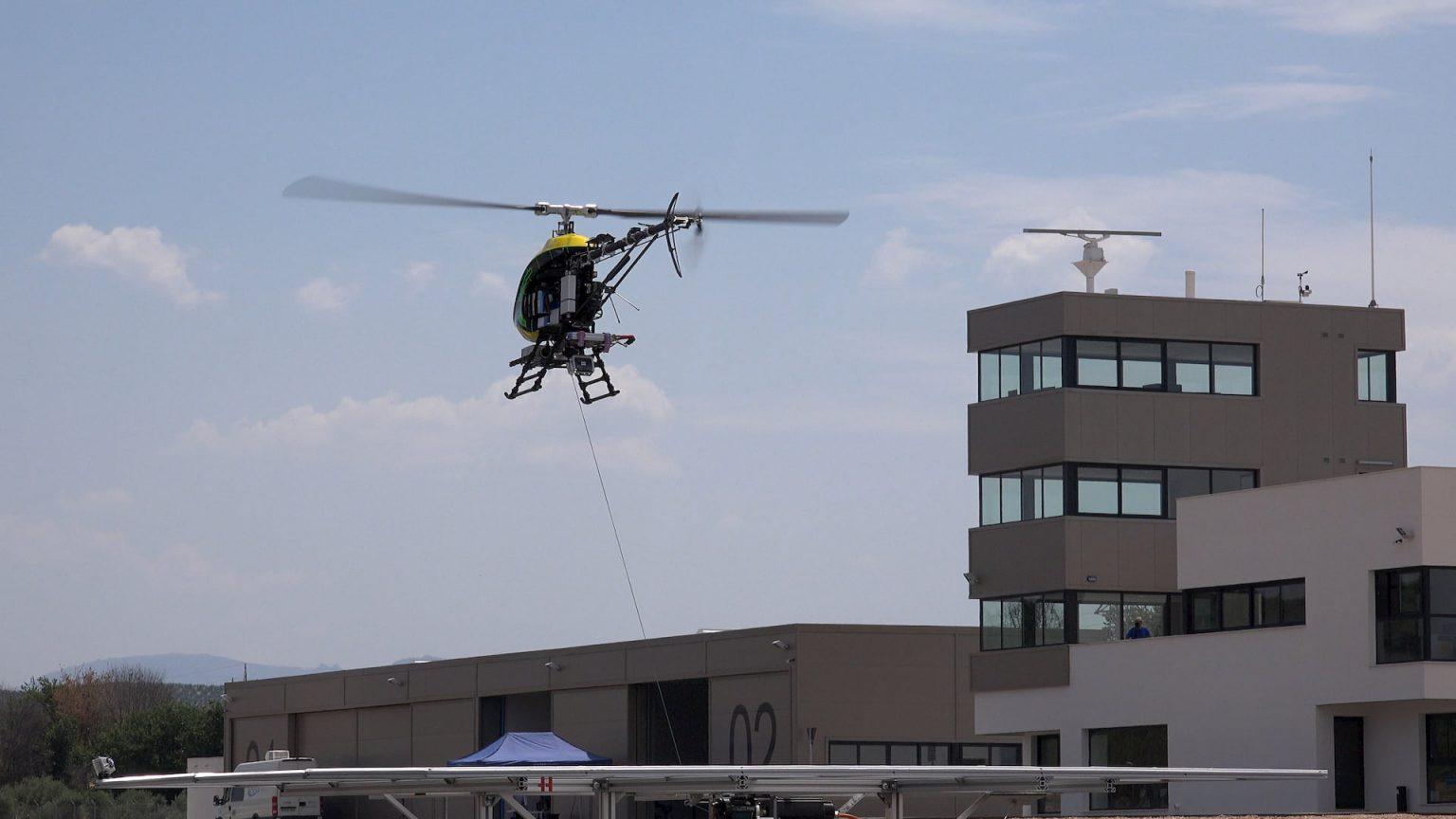 pruebas drone volando