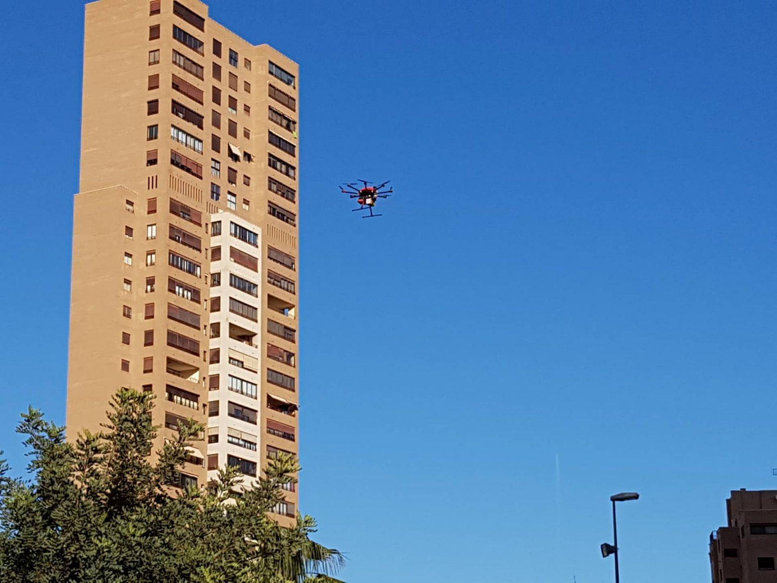 drone movilidad aérea